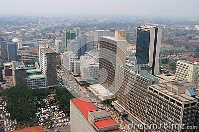 Centre of Nairobi