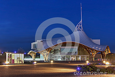 Centre Pompidou-Metz, France Editorial Photography