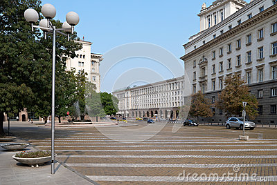 Centre of Sofia, Bulgaria