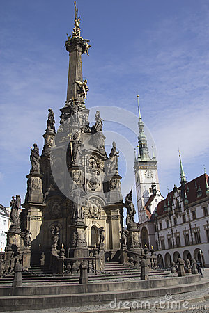 Centre of the town of Olomouc
