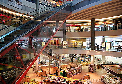 Centre zakupy Obraz Stock Editorial