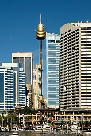 Free Centrepoint Tower & City Buildings Stock Images - 3776774