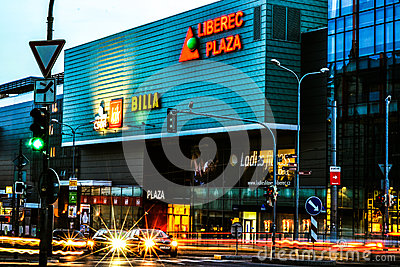 Centro comercial Foto editorial