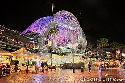 Centro commerciale caro del porto, HDR Fotografia Stock Editoriale