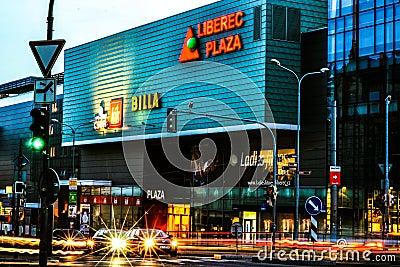 Centro de compra Foto Editorial