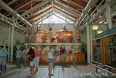 Centro de la hospitalidad de SeaWorld Busch Imagen editorial