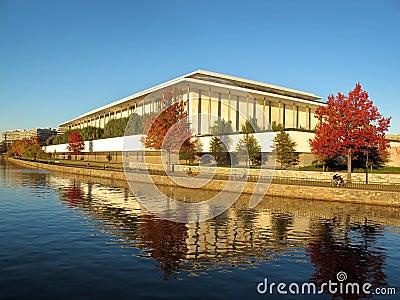 Centro de las artes interpretativas de Kennedy - río de Potomac