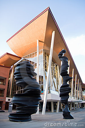 Centro do passatempo para artes de palco