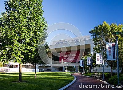 Centro nacional de la constitución Imagen de archivo editorial