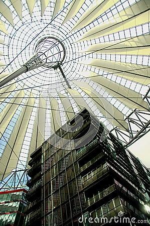 Centrum berlina Sony Zdjęcie Editorial