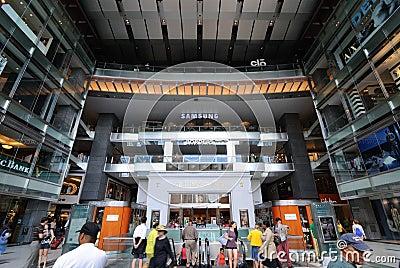 Centrum handlowego time warner Zdjęcie Stock Editorial