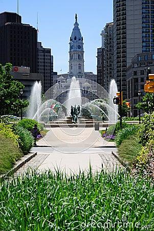 Centrum miasto Philadelphia