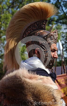 Free Centurion - The General Of Ancient Roman Army Royalty Free Stock Photography - 80794277