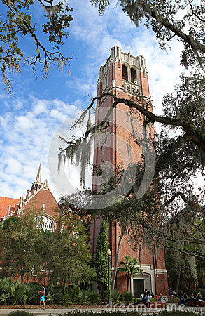 Free Century Tower At The University Of Gainesville, Florida USA Royalty Free Stock Photo - 62864995
