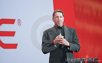 CEO of Oracle Larry Ellison Editorial Photo