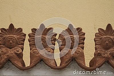 Ceramic Antefix