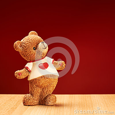 Free Ceramic Bear Statuette Royalty Free Stock Photography - 45407937