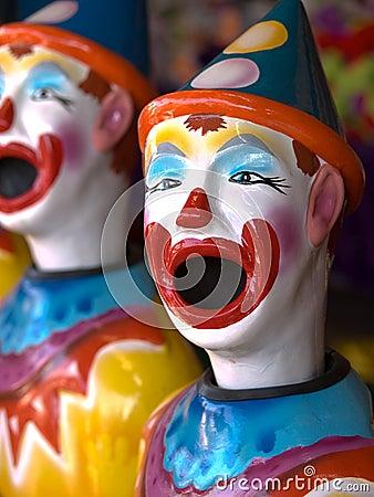 Ceramic Clowns