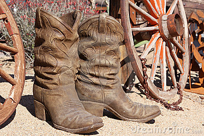 ceramic cowboy boots royalty free stock photo image 2006885