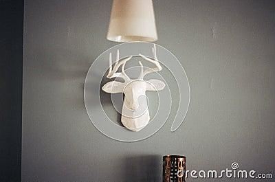 Ceramic Deer Head Free Public Domain Cc0 Image