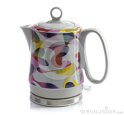Ceramic Electric Kettle Royalty Free Stock Images Image