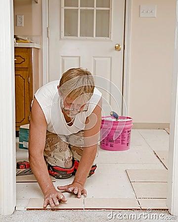 Ceramic Floor Installer