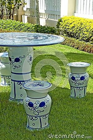 Ceramic Garden Set