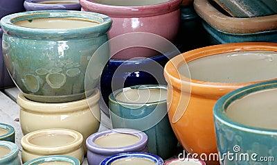 Ceramic  graden s pots