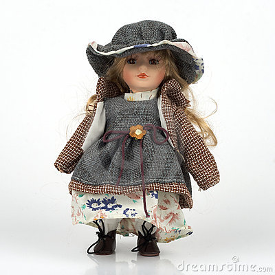 Ceramic old dolly