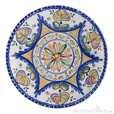 Free Ceramic Plate Stock Photo - 26370630