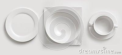 Ceramic plates & cup