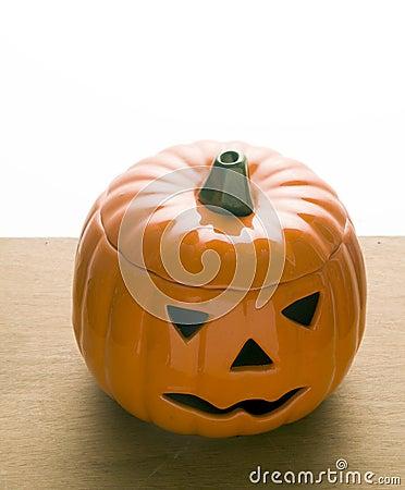 Ceramic pumpkin Jack o  Lantern  Halloween