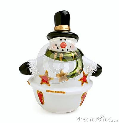 Ceramic snowman