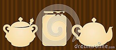ceramic tea pots with jar