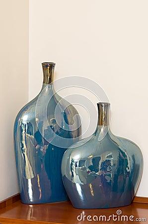 Ceramic vases still life
