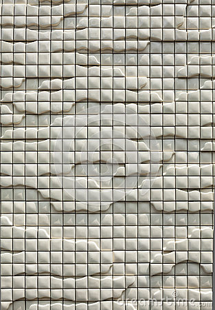 Ceramic wall background