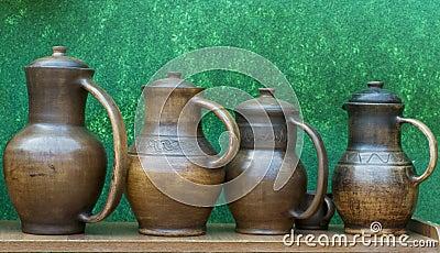 Ceramics are for sale