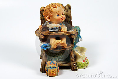 Ceramische Baby