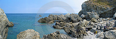 Cerbere Banyuls Marine reserve panorama