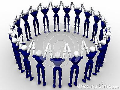 Cercle des gens