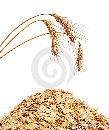 Free Cereal Flakes And Wheat Royalty Free Stock Images - 19389209