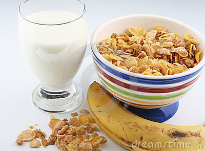 Cereal And Milk Royalty Free Stock Photo Image 4140035