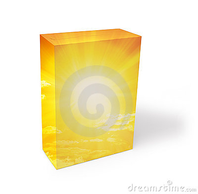 Blank Generic Cereal Box Stock Photography - Image: 15733112