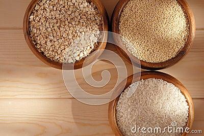 Cereals.
