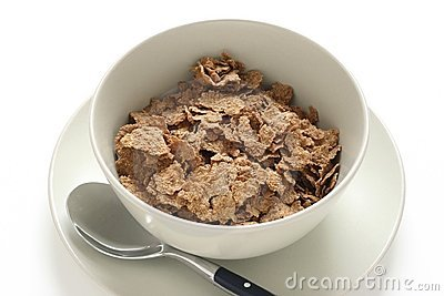Cereals in a bowl