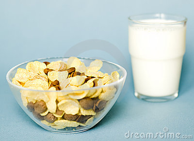 Cereals and milk