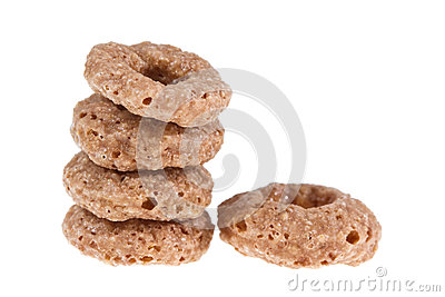 Cereals ring isolated