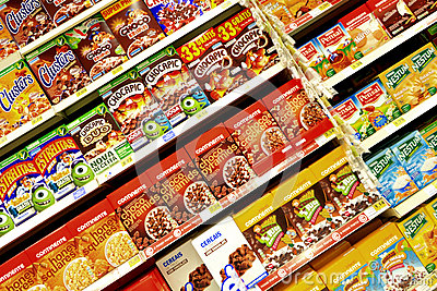 Cereals Editorial Stock Image