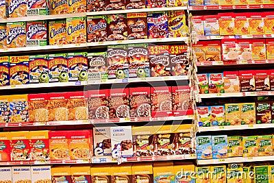 Cereals Editorial Photo