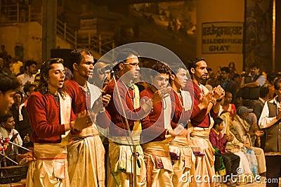 Ceremonia hindú Imagen de archivo editorial
